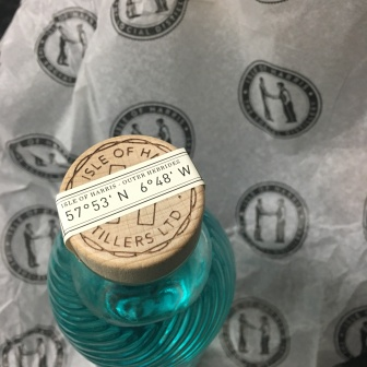Harris Gin Bottle