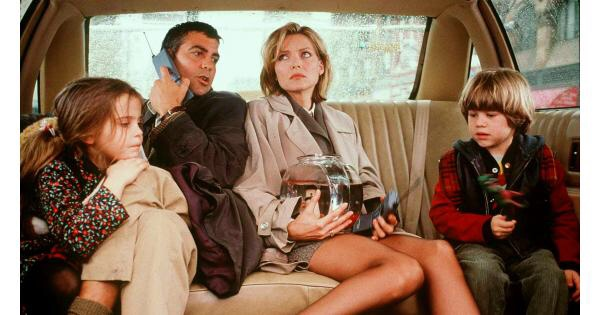 Michelle Pfieffer and George Clooney in One Fine Day