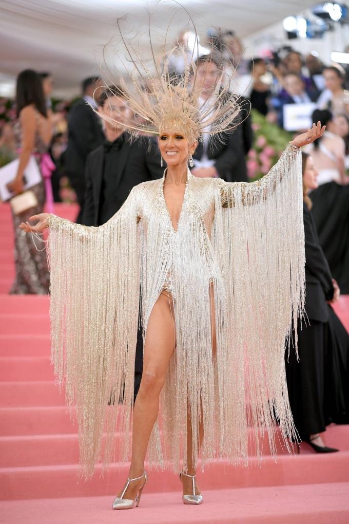 Celine Dion in Oscar De La Renta - MET Ball 2019