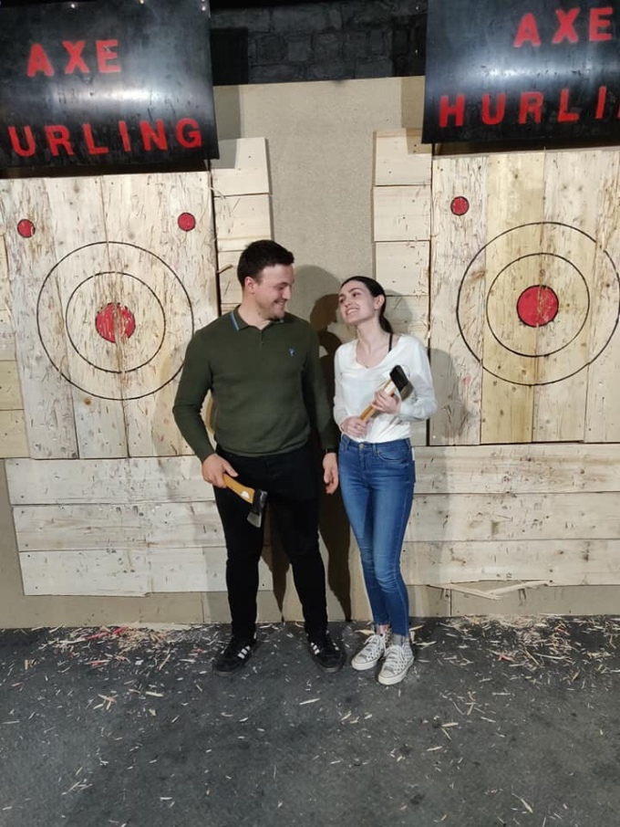Axe Hurling Glasgow
